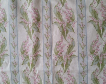 Vintage Pretty Lilly of the Valley Print Pillowcase