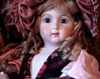 Long Faced Jumeau Reproduction Doll