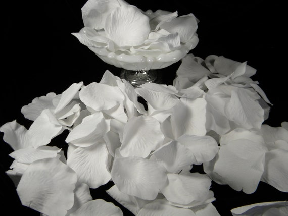 200 white rose petals bulk silk white wedding ceremony like this item mightylinksfo