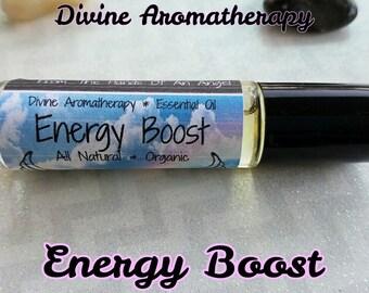 Divine Aromatherapy: Energy Boost -Organic Essential Oils