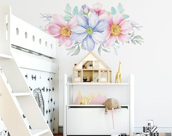 Spring Flowers Wall Decal