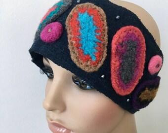 Wool Head Band, Gift for Her, Winter Hair Band, Ear Warmer, Wool Ear Warmer, Wool Head Band, Women Head Warmer, Boho Head Warmer