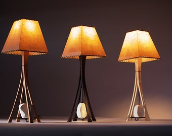 Helix table lamps