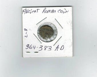 Ancient roman coin  - 364 - 383  AD