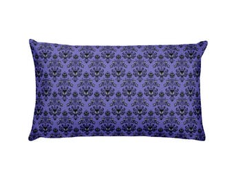 "Haunted Mansion  20""x12"" Rectangular Pillow - Perfect for any Disney Fan"