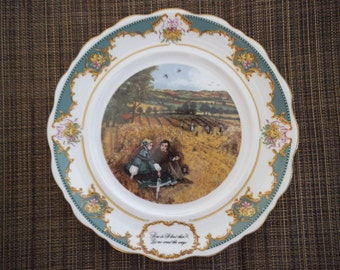 """The Poetry Society, """"Elizabeth Barett Browning"""" - 1982 Limited Edition Collector Plate"""