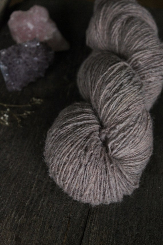 Seafolk Naturally dyed - 1 ply  100% non super wash wool - Fingering Weight - 400 yards - 100 grams