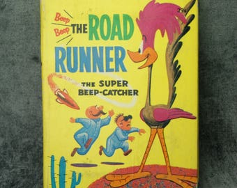 1968 Road Runner The Super Beep-Catcher Big Little Book