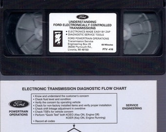 BTS Ford Understanding Electronically Controlled Transmissions VHS tape