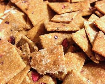 Large: Cranberry Gingerbread Dog Treats