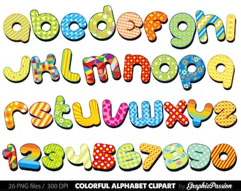 pdf 2 25 baby block letters alphabet clip art rh etsy com  clipart letters ofthe alphabet cartoon