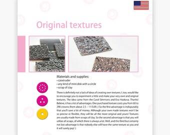 Original textures - Czextruder guide by Lucy [EN]