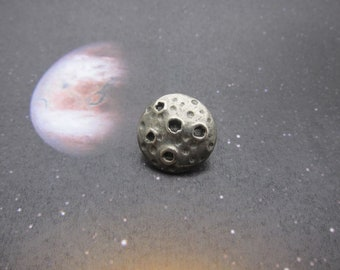 Asteroid Lapel Pin- CC167- Planetoid, Asteroid, Space, Solar System and Science Pins