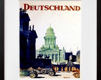 Germany Travel Poster German Art Print Home Decor (ZT380)