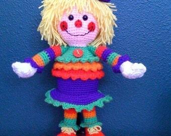 She Makes Me Smile Crochet Pattern