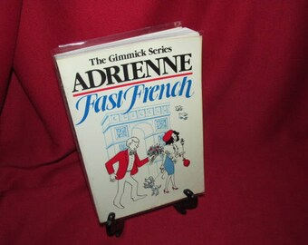 """Foreign Language Course: The Gimmick Series """"Adrienne Fast French"""""""