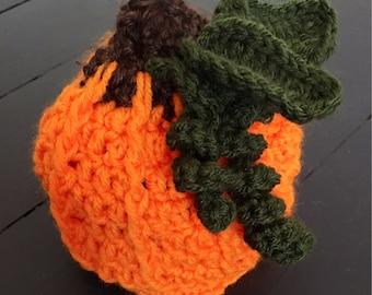 Baby Pumpkin Hat Size 6-12 Months