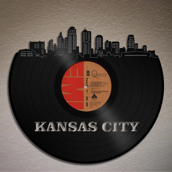 Kansas City Skyline Kansas Cityscape Wall Decor Decal - Custom vinyl decals kansas city