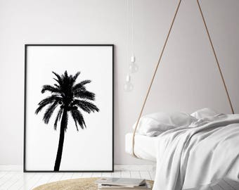 Palm Tree, palm print, palm print, palm tree art, tropical print,  modern art, palm poster