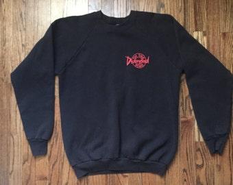 Vintage 90's Neil Diamond On the Road Sweatshirt Black Size M Medium