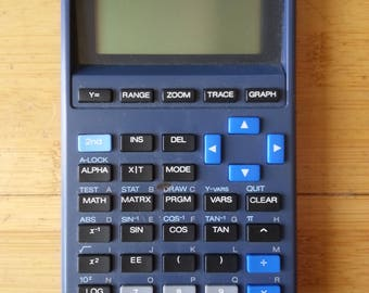 TI-81 Throwback Graphing Calculator
