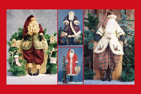 Santa Collection - Cloth Doll E-pattern Special Santa Collection of epatterns