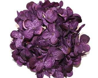 Etsy your place to buy and sell all things handmade full hydrangea head in purple artificial flowers silk flower blossoms pre order mightylinksfo