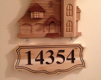 Victorian House sign