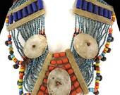 Naga Necklace Shell Pendant India 36 Inch 122863
