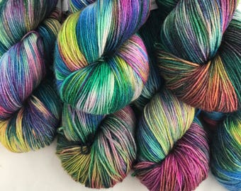 Mermaid - Superwash Blue Faced Leicester 4 Ply 100g