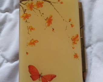 Vintage notepad and case