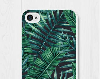 Banana Leaf Phone Case Leaves iPhone 7 Case Banana Leaf iPhone 5 Case Leaves iPhone 6s Plus Case Leaf iPhone 6 Case Samsung Galaxy S7 Case