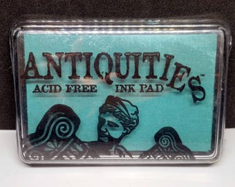 "Ranger ""Topiary"" Antiquities Pigment Ink Pad, Fade Resistant, Acid Free, Non Toxic, Embossing Ink"