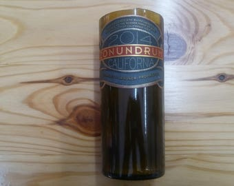 Conundrum Wine Bottle Candle