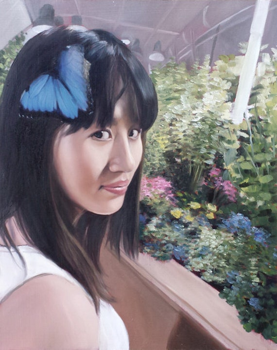 CUSTOM PORTRAIT - Custom Painting - Photo to Painting - Oil Painting