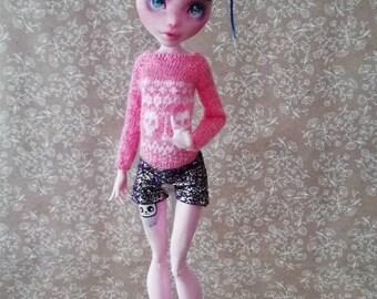 Monster High doll clothes / Кофта для кукол Monster High
