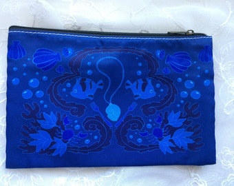 Under the Sea Mermaid Zippered Pouch