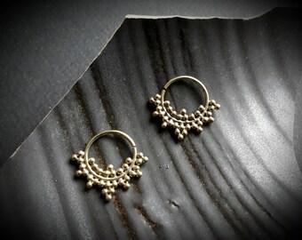 earrings *dot circle*