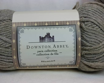 VAPOR GRAY Downton Abbey Yarn Collection - Branson - #5 Bulky - 153 yds / 3.5 oz - Acrylic/Wool