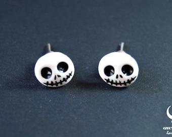Jack Skellington earrings, The nightmare before christmas jewelry, disney earrings, jack skellington jewelry, the Nightmare before christmas