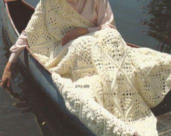 Crochet Afghan Pdf Crochet Squares/OhhhMama/  lap blanket bedspread throw afghan  wrap  vintage pattern instant download pdf