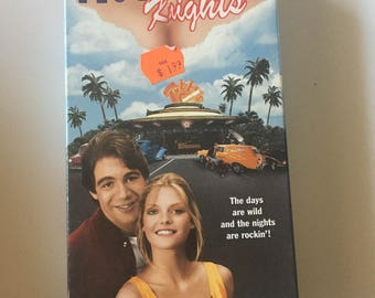 The Hollywood Knights Starring Tony Danza, Michelle Pfeifer (VHS)