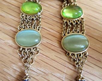 Vintage Liz Claiborne clip earrings C1980s