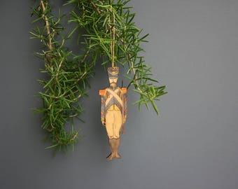 Tin Soldier hanging decoration