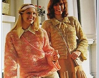 Patons Crochet Pattern 1539
