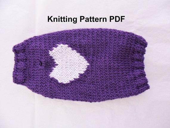 Knitting Sweater Design Book Pdf : Heart dog sweater knitting pattern pdf small