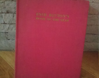 Enid Blyton's Book of the Year Vintage Retro 1950 Nature Month by Month