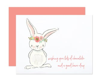 Good Hare Day - Funny Easter Card