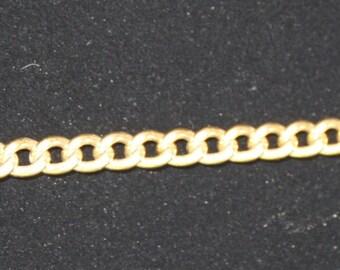 Vintage Monet Gold Link Chain Bracelet