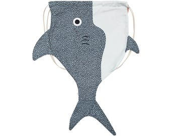 Adult shark (adult shark)-Fish backpack